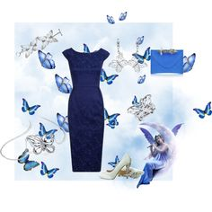 Fairy BLUEE, created by cristina1207 on Polyvore