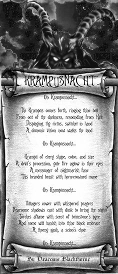 Krampusnacht by DBlackthorne on deviantART