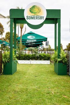 SOMERSBY CIDER LOUNGE | Design and Production Sydney, Brisbane, Melbourne, Perth & Adelaide for Asahi Premium Beverages