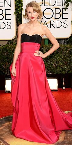 Taylor Swift 2014 Golden Globes #bestdressed