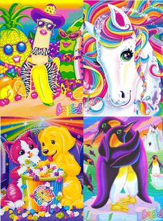 "Lisa Frank ""A single sticker, for instance, would take a minimum of three months to complete."" Pretty Rockin"