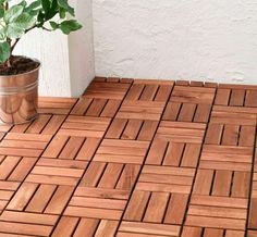 Come pavimentare un terrazzo - Pavimento in legno