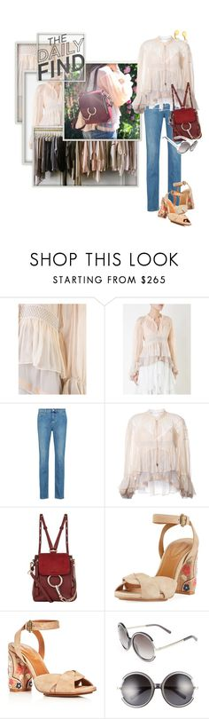 """""""The Daily Find - Chloé Mini Faye Backpack"""" by ivyargmagno ❤ liked on Polyvore featuring Chloé, See by Chloé and DailyFind"""