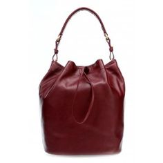 wardow.com - #bag #trend #red #fruits #color #Bree Stockholm 27 Beuteltasche fein genarbtes Rindsleder wein