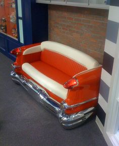 1956 Olds 98 couch