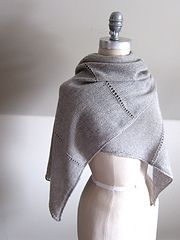 Ravelry: Aisé pattern by Espace Tricot--Beautiful, simple wrap.  Need to make this!
