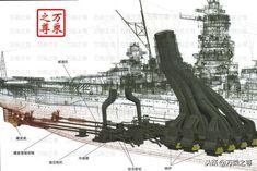 Yamato Battleship, Flight Deck, Navy Ships, Model Ships, Dieselpunk, Military Vehicles, Techno, Wwii, Japan