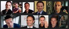 Andrew Lincoln  Click visit the facebook page for more info Walking Dead Cast, Andrew Lincoln, It Cast, Facebook
