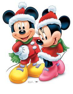 Advanced Graphics 744 Mickey and Minnie Christmas Natal Do Mickey Mouse, Mickey Mouse E Amigos, Mickey E Minnie Mouse, Theme Mickey, Minnie Mouse Christmas, Mickey Mouse And Friends, Disney Mickey, Walt Disney, Mickey Mouse Cartoon