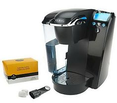 Keurig B76 Platinum Coffee Maker w/ 12ct Variety Pack & Water Filter
