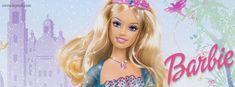 Princess Barbie Facebook Cover CoverLayout.com