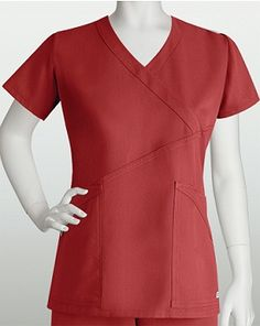 Grey's Anatomy Criss Cross Wrap Top. From the iStudentNurse Shop for Nurses and Nursing Students Grey's Anatomy, Friday Outfit For Work, Greys Anatomy Scrubs, Criss Cross Top, Medical Uniforms, Scrub Tops, Her Style, Dresses For Work, Work Outfits