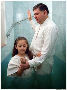 The Running Mormon: Baptism (FHE)-activity for taking Christ's name upon us