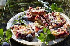Staromódní švestkový koláč Vegetable Pizza, Vegetables, Healthy, Food, Essen, Vegetable Recipes, Meals, Health, Yemek