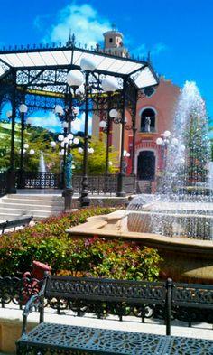 Un día en la Plaza de Barranquitas