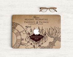 The Marauders Map Harry Potter Sticker Skin Vinyl by Pattynapit