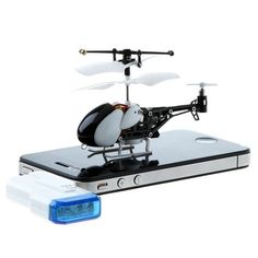 Fancy - iOS Controlled Mini Helicopter $50  http://www.thefancy.com/signup?referrer=Carrico