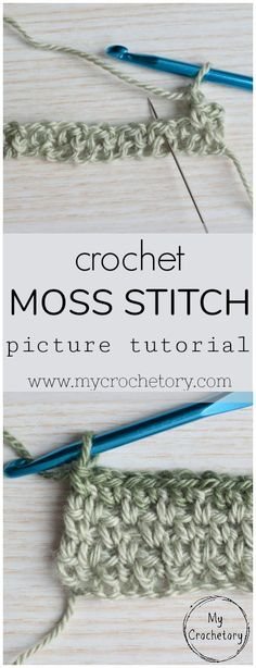 I recently learned the Moss Stitch (also known as a Linen Stitch or Granite Stitch) and since then my head is full of new ideas. It is super easy to crochet and creates a fabulous stretchy fabric. The Moss stitch is ...