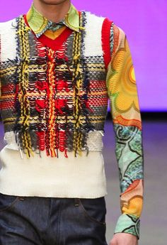 patternprints journal: PRINTS, PATTERNS AND TEXTILE SURFACES FROM LONDON CATWALKS (MENSWEAR F/W 2015/16) / Topman Design.
