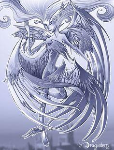 End-Bringer Simurgh, from the web serial novel Worm http://fc09.deviantart.net/fs70/f/2013/133/9/f/the_simurgh_by_scarfgirl-d657nw9.jpg