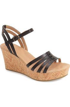 UGG® 'Brigitte' Wedge Sandal