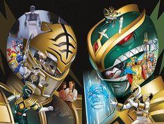 Power Rangers Poster, Saban's Power Rangers, Mighty Morphin Power Rangers, Powe Rangers, All Anime Characters, Naruto Wallpaper Iphone, Tv Themes, Green Ranger, Comic Book Panels
