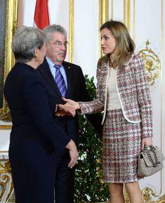 Queen Letizia of Spain visits the Vienna