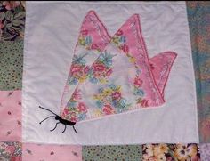 Great use for old handkerchiefs