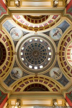 Montana State Capitol, Helena, MT by varlamov, via Flickr