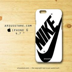 Nike Just Do It Sport Apparel Black iPhone 6 Case