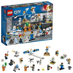 Shop LEGO City People Pack Space Research and Development 60230 Multi at Best Buy. Find low everyday prices and buy online for delivery or in-store pick-up. Shop Lego, Lego Store, Buy Lego, Toy Store, Lego Duplo, Lego City Space, Arma Nerf, City People, Lego People