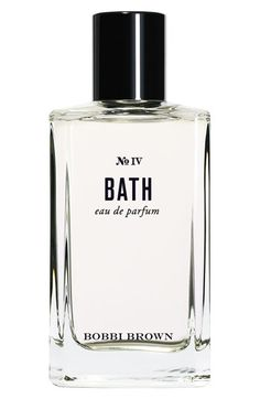 """My new fave scent. So clean & fresh. They say """"BEACH"""" is her best selling scent but I didn't love at nearly as much. {Bobbi Brown 'No. IV Bath' Eau de Parfum available at #Nordstrom}"""