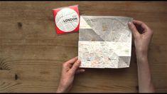 een ingezoomde map op papier? Geniaal idee :D