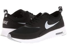 wholesale dealer 8e056 0eafc Nike Air Max Thea Sneakers in Anthracite White Shoes, Black Lace Up Shoes,  Gray