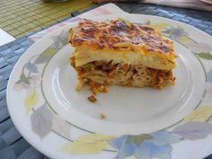 Pasta Casserole, Casserole Dishes, Vegan Greek, Pasta Al Dente, Celery Rib, Small Tomatoes, Bechamel Sauce, Vegan Pasta, Food Staples