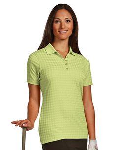 Gem 100588 Womens Performance Golf Polo by Antigua. Buy it @ ReadyGolf.com