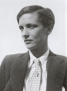Photo of Swiss photographer Annemarie Schwarzenbach. This was taken by Marianne Breslauer, famed photographer and student of Man Ray  http://en.wikipedia.org/wiki/Marianne_Breslauer