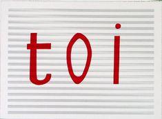 Toi - Louise Bourgeois, 2003