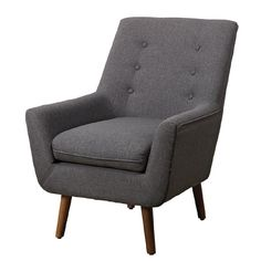 Living & Co Amelia Button Back Armchair