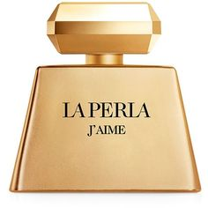La Perla J'aime Gold (EDP, 100ml) (€81) ❤ liked on Polyvore featuring beauty products, fragrance, perfume, beauty, filler, gold fillers, perfume fragrance, flower perfume, eau de parfum perfume and blossom perfume