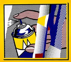 Artist Of The Week: Roy Lichtenstein Roy Lichtenstein Pop Art, Art Pop, Industrial Paintings, Art Deco Hotel, Jasper Johns, Sad Art, Art Walk, Art Institute Of Chicago, Claes Oldenburg