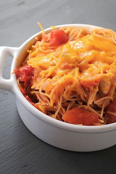 One Pot Mexican Spaghetti... Something different to try for the family.