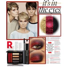 """It's in the Eyes"" by stylejournals on Polyvore"