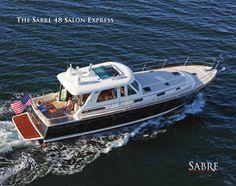 Sabre 48 Salon Express brochure link