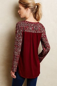Mataura Top by one.september #anthroregistry