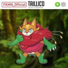 FKMN_Official: Taillico by AdamFegarido on DeviantArt Pokemon Meowth, Pokemon Fake, Wooden Puppet, Pixel, Fashion Painting, Character Description, Online Art Gallery, Bowser, Deviantart