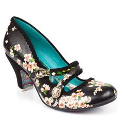 Just love these... great for spring and summer, but black for dress-up. Candy Whistle by Irregular Choice shoes