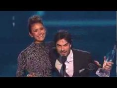 The People's Choice for Favorite On-Screen Chemistry is Nina Dobrev and ...