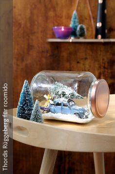 Ber ideen zu schneekugel selber machen auf pinterest schneekugel schneekugeln und - Adventsbasteln ideen ...