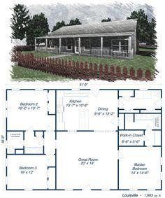 Louisville metal house kit steel home
